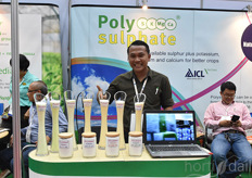 PolySulphate is an AICL product, gaining good results in various crops.