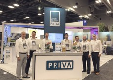 The Priva team on the Cultivate'18
