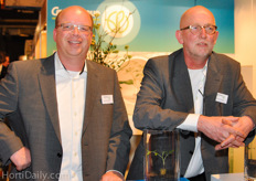GrowGroup sales team: Arjan Sonneveld and Simon van Zanten.