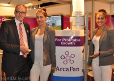 Arcazen presented a new greenhouse dehumidifier.