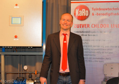 Karo presented a pure chlorine water treatment unit.