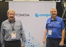 Jody Jackson and Laurie Langston with Tomra / Compac.