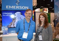 Jay McEvoy and Stephanie Camp with Emerson