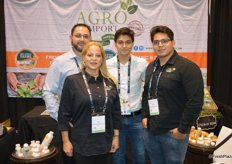 Tulio Garcia, Carol Pineda, Alexander Garcia and Christian Garcia with Miami Agro Import.