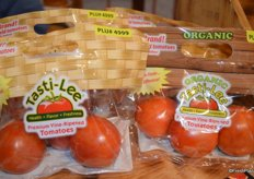 Pouch bags with Tasti-Lee tomatoes are available in conventional as well as organic.