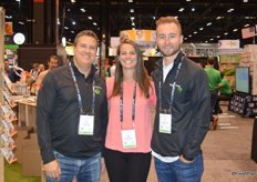 Gary Lazarski, Regan Northrop and Daniel Murphy with MightyVine are attending the show.