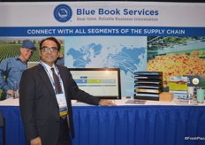 Eloy Cortes with Blue Book Services