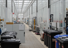 The WUR complex has got 78 separate greenhouse compartiments