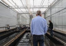 In this trial, that is being set up right now, the researchers are studying the possibilities of a biological balance in aquaponic cultivation.