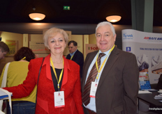 Janja Postruznik and Zoran Petrovic, Slovenian honeyberry producers from Haskap d.o.o.