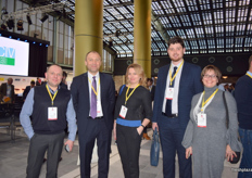 From Ukraine, Roman Denys-Managing Director of GalFrost, Andriy Yarmak-UN FAO, Natalia Pukshyn-CEO of Blueberry, Taras Bachtannyk-CEO of U-Berry and Irina Kukhtina-President of Ukrainian Berries Association.